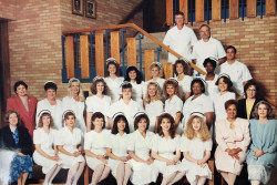Temple College graduated its first class of Associate Degree Nursing students in 1995.