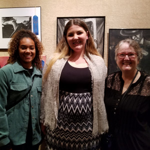 Temple College Winners (l-r): Onaisha Franka, Briaunna Jackson and Amy Flinn