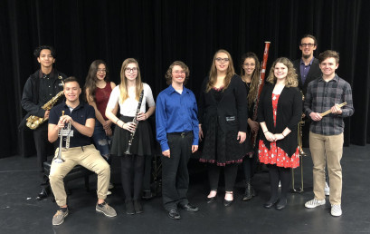 Students selected to perform with All-State music groups, 20188