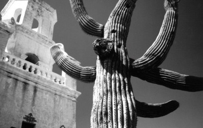 San Xavier Del Bac, Tucson by photography instructor David Hansen