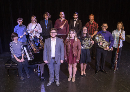 Photo cutline: Temple College students who have been selected to perform with 2019 All-State musi...