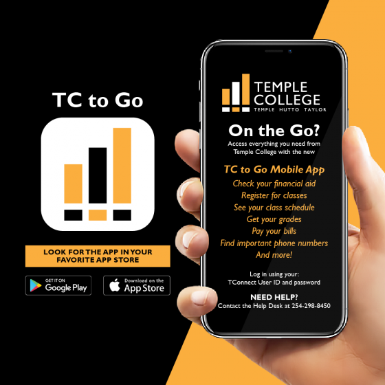 Download the TC to Go Mobile App