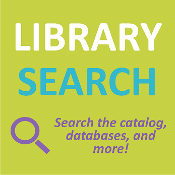 Library Search allows you to search the catalog, databases, and more!