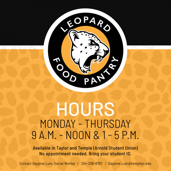 Leopard Pantry Summer Hours